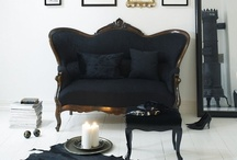 Black / by The Vintage Farmhouse