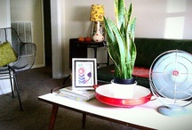 Mostly White / This is how I live in my own space; white containers, color provided by beloved objects. / by Letha Colleen