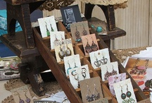 jewelry booth ideas / by Dana Byrd-Hodge