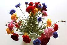 Aalto Vase Flower Arrangements / Cool flower arrangement ideas for your Alvar Aalto vase / by Fitzsu.com