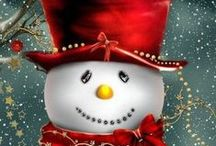 Snowmen!! / by Rhonda Grandhagen