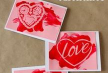 Valentine's Day Crafts / Great Valentine's Day craft ideas to make!  DIY Valentine's Day decor, Valentine printables, and more!