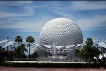 Epcot - Disney World  / Epcot is my favorite Disney World theme parks.  As many times as I've been there, I still haven't tackled it all.