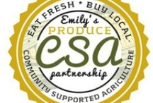Emily's CSA Weekly Board - 2013 / You've received your weekly CSA box from Emily's Produce ... now what to do with all of the great products inside?  Each week, we'll help you find FRESH ways to enjoy your products!  Your support of LOCAL agriculture is also supporting your good health!