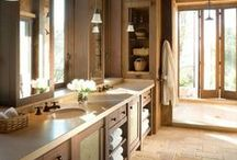 Bathroom Remodel / A bathroom remodel is a quick and cheerful change for your home with myriad opportunities for personal expression, and can be done for a reasonable investment.  It can range from something as simple as a new sink and paint job, to a full remove-replace with a new layout.  We can provide the full range; including:  custom cabinetry, creative tile and stone work, custom bathtubs and showers (even steam showers). / by Remodel Works