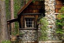 Rustic / Focus on ranch and cabin homes and decor.