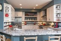 Dream Kitchen / Whether you use it just for cooking or hosting guests, the kitchen is central in any household. This board is filled with ideas to help you design the kitchen of your dreams. / by Remodel Works
