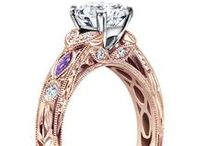 Colorful Engagement Rings / Enhance and Set Apart Your Engagement Ring with Colorful Gems