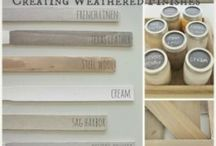 Design Color: Paint Methods / Chalk and other paint methods.