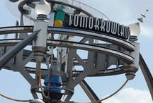 Tomorrowland in the Magic Kingdom / Tomorrowland - exploring the future just the way we remembered it.   Tomorrowland is one area of the Magic Kingdom park at the Walt Disney World Resort in Florida.