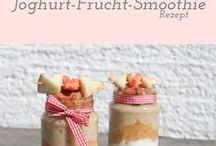Smoothie Rezepte / Lieblings Smoothie Rezepte, Ideen, Inspirationen, Sommer, Früchte, Obst