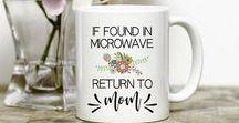 Mugs from Joyful Art Designs / Coffee mugs created by Joyful Art Designs.