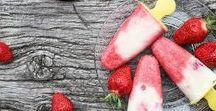Erdbeer - Rezepte / Rezepte mit mit Erdbeeren Inspirationen über Eis, Kuchen, Smoothie Auflauf und Cupcakes