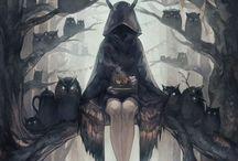 Strange magic scary world