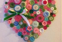 Button Crafts / by Carolyn Clower