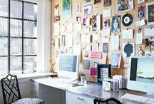 Home Office / My dream home office, where I wish I was sitting on my computer pinning