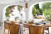 A Room Outside / The best room is the outdoor room. Porches, sunrooms padio and fabulous backyards