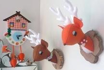 Kinderkamer thema hertje en bambi ★ kid's room theme deer