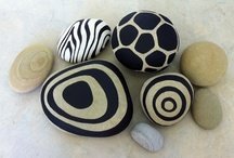 "Stones, Rocks & Pebbles / Ideas for the EYFS / Early Years / ECE / Preschool / Kindergarten classroom. Lots more stones, rocks or pebbles on my 'Maths - Number', 'Maths - Shape, Space & Measure','Literacy - Reading & Writing' & 'Alphabets & Phonics' Boards ("",)"