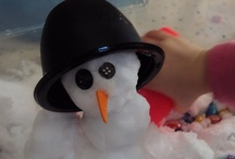 Winter (not Christmas) / Ideas for the EYFS / Early Years / ECE / Preschool / Kindergarten classroom.