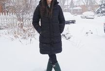 Winter Style / Winter fashions for chilly weather! Boots, Jackets, Jeans and scarves. My favorite looks for snowy cold days.