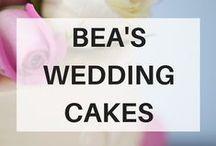 Bea's Wedding Cakes / We love brides. We love grooms. We love weddings–best of all we love cake!!