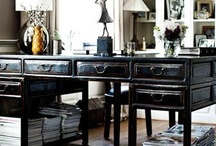 Beautiful Interiors ~ A place to work. / by Tammy Hilburn