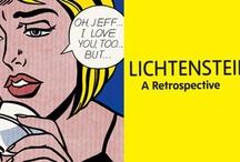 Roy Lichtenstein / Popart of Roy Lichtenstein