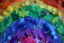 Rainbows / Ideas for the EYFS / Early Years / ECE / Preschool / Kindergarten classroom.