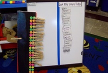 Self-Registration / Ideas for the EYFS / Early Years / ECE / Preschool / Kindergarten classroom.