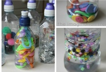 Discovery Bottles / Ideas for the EYFS / Early Years / ECE / Preschool / Kindergarten classroom.