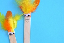Puppets (Not story specific...) / Ideas for the EYFS / Early Years / ECE / Preschool / Kindergarten classroom.