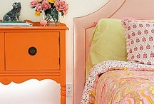 Bedrooms for Girls / My tween girls' next bedrooms need to be fun and feminine, the kinds of rooms that can grow with them into young adulthood. These photos are so beautiful. Makes me happy!