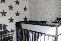Kinderkamer zwart wit ★ black and white kids room / Inspiratie en ideeën voor kinderkamers in de basiskleuren zwart & wit