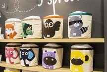 Favourite brands ★ 3 Sprouts / Prachtige speelgoedmanden met diermotieven voor een opgeruimde kinderkamer ★ Beautiful storage bins and boxes form Canada