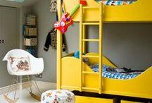 Kinderkamer geel ★ Kid's room yellow / Inspiratie en sfeer impressies van baby- en kinderkamers met gele accessoires en accenten ★ decorating kid's rooms and nurseries with yellow