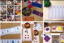 Maths in My Classroom / Some of the mathematical opportunities I provide in my EYFS / Early Years / ECE classroom...