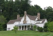 future farm house stuff / I'm dreaming of a white farmhouse.