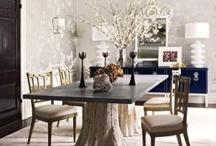 Spaces: Dining Room / by Rejoy Geehan