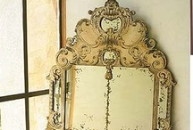 Mirrors with a history / Vintage mirrors / by Marilyn Van Dyke Miller