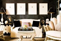Black and White Treasures / This boards contain black and white items mainly for the home. Some fashions and photography can be found here as well.  / by A.Marie