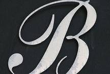 letras y números / by Begoña Remis