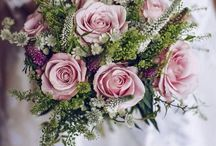 Katy / Dusky pink wedding flowers
