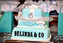 Tiffany and Co. Theme Party / I have always dreamed of a themed party and thanks to my one of my best friends and my Sister, the Maid of Honor, it came true. What can possibly be more glamorous than a Tiffany & Co. themed bridal shower? We did a lot of DIY projects to make it come true.