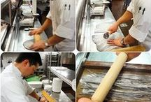 In the L'Andana Kitchen / L'Andana 'behind the scenes'