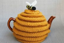 Tea cosy - knitting&crocheting