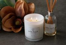 Lilies & Leather - Candle Of The Week / Sunny top notes of citrus and bergamot accompanied by floral, woodsy middle notes and musky, leathery bottom notes to round it off. We cannot get enough of this moreish fragrance that instantaneously entices you in to relaxation. Picture strapping in to your favourite leather boots, ready for a crisp morning walk through a dewy field of late blooming flowers, the thick mist that hangs over the rolling countryside is yet to rise in the heat of the sun.