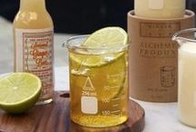 Ginger Ale - Candle of The Week / These Melbourne based chandlers hand pour their candles in to re-useable glass chemistry beakers – which make for a very handy drinking vessel once the candle burns out. A classic combination of freshly grated ginger and zesty lemon notes, this thirst quenching fragrance is bright and refreshing
