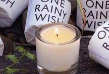 One Rainy Wish - Candle of The Week / Picture pretty wild roses after a summer shower, beads of rain balancing on each petal and a blue mist lingering for as far the eye can see.