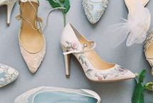 Wedding Shoes, Accessories, and Jewelry / Bridesmaid shoes, jewelry, and other accessories for the wedding day.